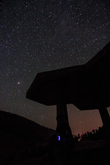 angels & demons (M Yasir B.) Tags: nightphotography pakistan orange silhouette night nightimages shadows joy wideangle astrophotography nightshots serene nightsky juniper balochistan ziarat juniperforest lonelywanderer