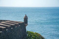 Standing Guard by the Sea (gendarme02) Tags: 2015 carnival cruise nikon puertorico fortress fortification fort