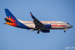 Jet2 --- Boeing 737-300 --- G-GDFO (Drinu C) Tags: plane aircraft aviation sony boeing dsc 737 mla jet2 737300 lmml hx100v adrianciliaphotography ggdfo