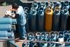 Almuerzo_Gasero (IzqMx1) Tags: gas camion lp trabajador combustible cilindros tanquesdegas gaseros