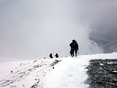 """On the descent to Camp 3 • <a style=""""font-size:0.8em;"""" href=""""http://www.flickr.com/photos/41849531@N04/19836318983/"""" target=""""_blank"""">View on Flickr</a>"""