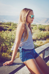(TO INFINITY, AND BEYOND) Tags: summer portrait girl sunglasses aprobado