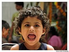 Cute Kid (Raman_Rambo) Tags: portrait india cute beautiful smile kids portraits naughty children photography kid eyes child indian innocent cutie innocence laughter maharashtra curious cuteness mumbai curiousity raman adolescence ramansharma ramansharmadombivli