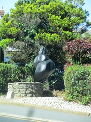 I see a seashell ... (wallygrom) Tags: england sculpture isleofwight seashell shanklin conch iow