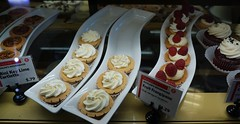 Diet tomorrow (Let Ideas Compete) Tags: food pastry pastries keylime tartlette frangipane cupcake curve tray display