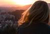 Sunset (Claude Schildknecht) Tags: barcelona barcelone couchédesoleil gaudi parkgüell sonnenuntergang sunset