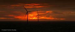Burning Horizon (Askjell's Photo) Tags: belgium blighbank northsea offshore windturbine windmill windpower askjell