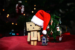 Bored of Christmas (Jacks_ON) Tags: danbo bored or christmas aburrido de las navidades noël tree rolleiflex automatic model 2 k4 b2 1 19 1945 45 4 5 nikon d800 d 800 nikkor 2870 28 70 jacksonphoto jackson photo wwwjacksonphotoes