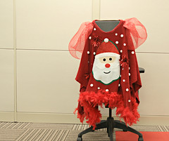 Ugly Christmas Sweater Winner (Cindy's Here) Tags: uglychristmassweater santa officechristmasparty christmas canon ansh challenge