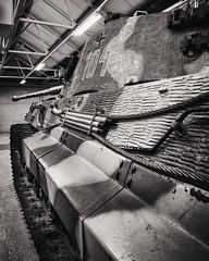 5697 (gcu_sketcher) Tags: xt1 xf1024 bw silverefexpro tank tankmuseum panzer bovington armour ww2 kingtiger henschelturret tigerii königstiger german