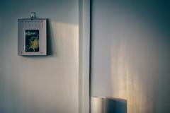 The Ballerina (freyavev) Tags: minimalist indoor light door wall vase shadows calender henridetoulouselautrec toulouselautrec painter art ballerina whitevase winteratmosphere indoors belgrade beograd vracar serbia srbija vsco 50mm niftyfifty mikasniftyfifty