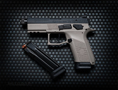 CZ P-07 Urban Grey Suppressor-Ready 9mm (Fly to Water) Tags: cz czusa usa p07 urban grey gray suppressor ready 9mm tactical combat pistol handgun semi automatic concealed carry law enforcement professional product photography gun weapon magazine