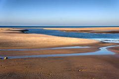 Low tide (Janos Kertesz) Tags: seashore beach sand sandy sea water coast nature landscape shore seaside ocean blue vacation sky costadelaluz andalusia spain conildelafrontera atlantic