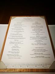 A la carte menu (A. Wee) Tags: cathaypacific 国泰航空 机场 airport hkg hongkong 香港 china 中国 thepier lounge menu