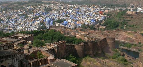 Jodpur ( Rajasthan )- la ''città blu'' dell' India