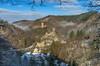 *Manderscheid @ Burgenromantik* (albert.wirtz) Tags: deutschland germany rheinlandpfalz rhinelandpalatinate eifel vulkaneifel manderscheid niedermanderscheid albertwirtz niederburg oberburg burgenromantik castle ruine burgruine ruin tourismus fremdenverkehr winter schnee snow wald forest nebel nebula niebla nebbia fog mist sonnenschein bluesky sunlight nikon d810 lieserpfad eifelsteig