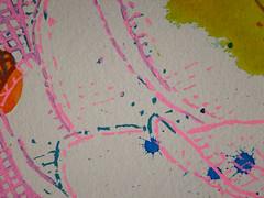 DSC0966888 (scott_waterman) Tags: scottwaterman painting paper ink watercolor gouache lotus lotusflower detail