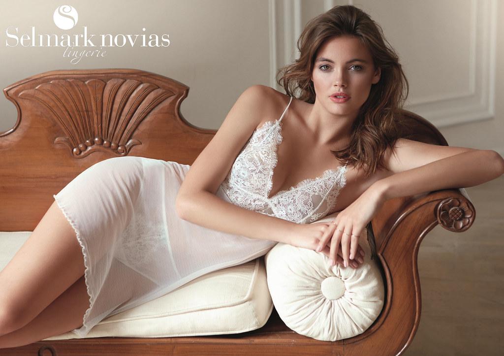 967cf4ae67 Colección Oceanne (SELMARK Lingerie) Tags  selmark lingerie novia bridal  camisón lencería