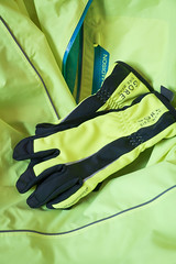 They call me mellow yellow (Keith Williamson) Tags: cycling jacket gloves waterproof windproof visible yellow bright madison gore