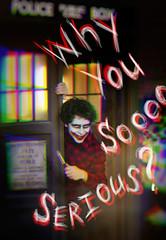(Nicola Thunder) Tags: doctor who joker cosplay tardis batman
