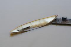 To Late. (Omygodtom) Tags: storm boat abstract canoe nikon nikkor nikon70300mmvrlens floating flood senery setting scene