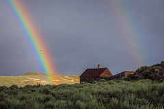 Bodie State Historic Park: The Physics of Color (Jeff Sullivan (www.JeffSullivanPhotography.com)) Tags: rainbow metzger house bodie state historic park american ghost town wild west physics science weather abandoned buidling photography workshop bodiestatehistoricpark california usa easternsierra mono county photomatixpro