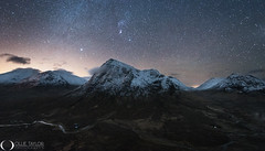 Buachaille Etive Mor Winter Night (www.ollietaylorphotography.com) Tags: buachailleetivemor europe highlands orion scottishhighlands astrophotography constellations glencoe landmark landscape landscapephotography milkyway mountains nightphotography nightsky nightscape picturesque planets scotland scottish sky snow starlight stars tuition uk venus winter workshops