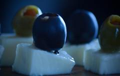 Say Cheese  HMM (Kreative Capture) Tags: hmm macromonday macromondays cheese olives fresh black green white nikon nikkor d7100 yummy food macro saycheese natural antipasta italian appetizer