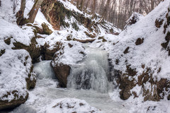 The frozen creek (Majorimi) Tags: canon eos 70d digital color colorful nice hungary winter cold snow white nature pilis hills valley montains tree forest ice creek
