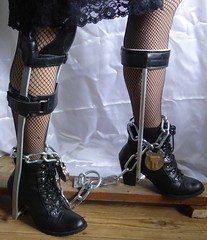 Chained (JKiste2008) Tags: chains leg brace kafo caliper
