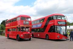 RM1966 LT240 (matty10120) Tags: bus rally north routemaster airfield rm weald 2015 lt240 ald966b rm1966 ltz0240