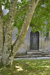 Saint-Blancard. Porte dérobée de l'église (Alessio Ferrato) Tags: france gers midipyrénées saintblancard