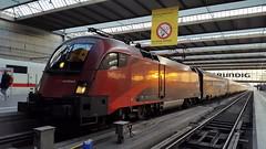 Railjet 1116 214, Mnchen Hbf (dolanansepur) Tags: railroad train rj siemens railway zug taurus federal bb austrian bundesbahn 1116 sterreiche railjet