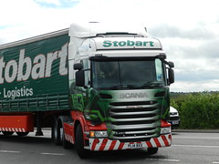 PL14BXX H6988 Eddie Stobart Scania 'Rhoneen Tidnan' (graham19492000) Tags: eddie scania stobart eddiestobart pl14bxx h6988 rhoneentidnan