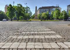 Le monument russe (1882) (Vincent Rowell) Tags: urban monument raw sofia crosswalk flagstones tonemapped bulgariaistanbul2015