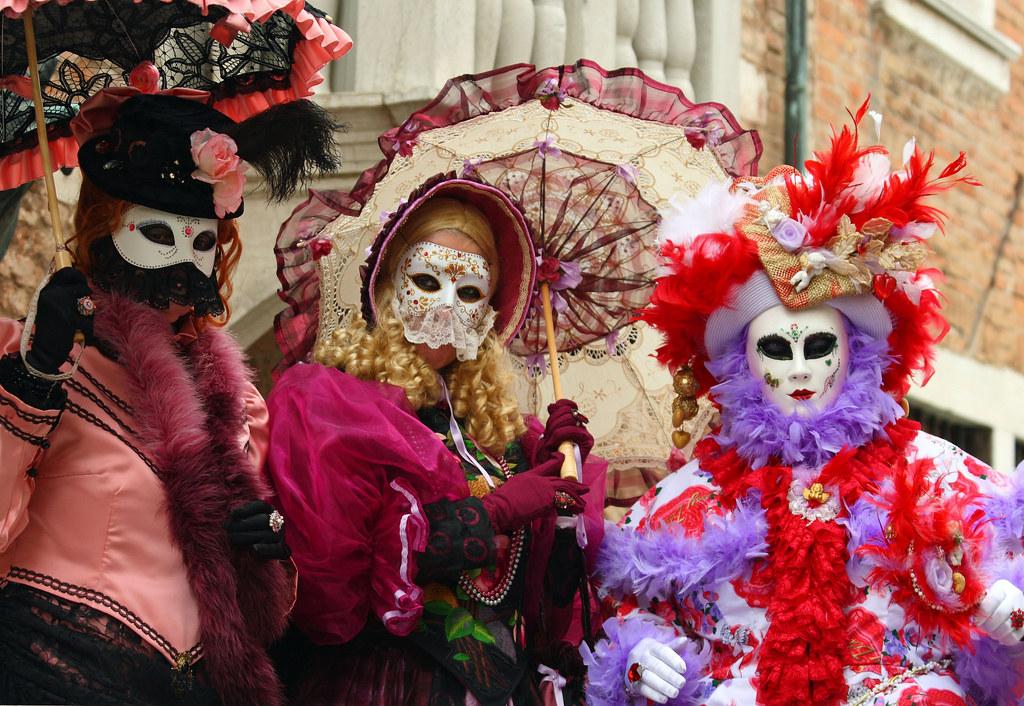 Lễ hội hóa trang Venice – Italia