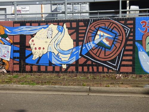 Diverscity. Murals at Auburn, NSW