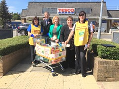 Tesco neighbourhood food collection