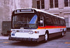 087 RTD New Paint  Scheme Main St Headquarters Lot. 19810116 AKW (Metro Transportation Library and Archive) Tags: buses scrtd alanweeks southerncaliforniarapidtransitdistrict