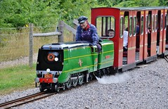 """No 21C1 Channel Packet 10"""" 4-6-2 (stavioni) Tags: miniature pacific no navy railway class lakeside steam locomotive packet channel eastleigh 462 bullied 10 21c1 erchant"""