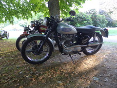 Triumph TR5 Trophy 500cc OHV (Michel 67) Tags: classic vintage motorbike moto motorcycle ancienne motocicleta motorrad motocicletta motociclette classik