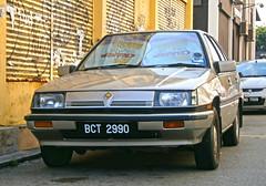 1989 Proton Saga (Magma) 1.3S 4-door saloon (Aero7MY) Tags: car sedan 1st first malaysia 1989 13 gen saga saloon generation jaya proton magma subang 13s 4door 8valve 4g13p
