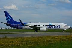 C-GTQC (Air Transat) (Steelhead 2010) Tags: boeing yyz b737 airtransat b737800 creg cgtqc