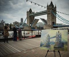 Tower Bridge in watercolour (efil') Tags: london towerbridge konicahexanonar24mm sonya7ii