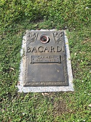 Bacardi Rum Family Woodlawn Park North Cemetery Miami (Phillip Pessar) Tags: grave woodlawn park cemetery miami bacardi rum