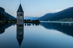 Lago di Resia (mgirard011) Tags: curonvenosta trentinoaltoadige italie it 300faves