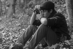 19 (danielviera1) Tags: portr portraits retra retratos retrato portrait portraiture natural light canon canonphotography canonphoto boy man forest bosque natura naturaleza otoño autumm blackandwhite blancoynegro bnw byn luznatural grancanaria laspalmas canaryislands canarias teror chico joven model adventure authenticlife bokeh face faces tree trees árboles árbol canoneos1200d 50mm