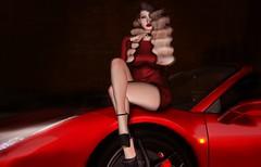 Scarlett Prancer (Jay (JaysondaAussie)) Tags: billionaire motors billionairemotors littlebones foxes ferrari rarri car exotics anlar
