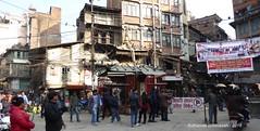 P1110071 Thamel street views - as I walk to Nepal Airlines New Road office to change my Return Ticket date (ks_bluechip) Tags: nepal trel dec2016 annapurna mohare khopra muldhai abc mbc pokhara kathmandu