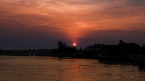 Chao Phraya River Sunset-03946